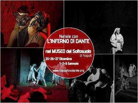 Capodanno allInferno il teatro al museo del Sottosuolo