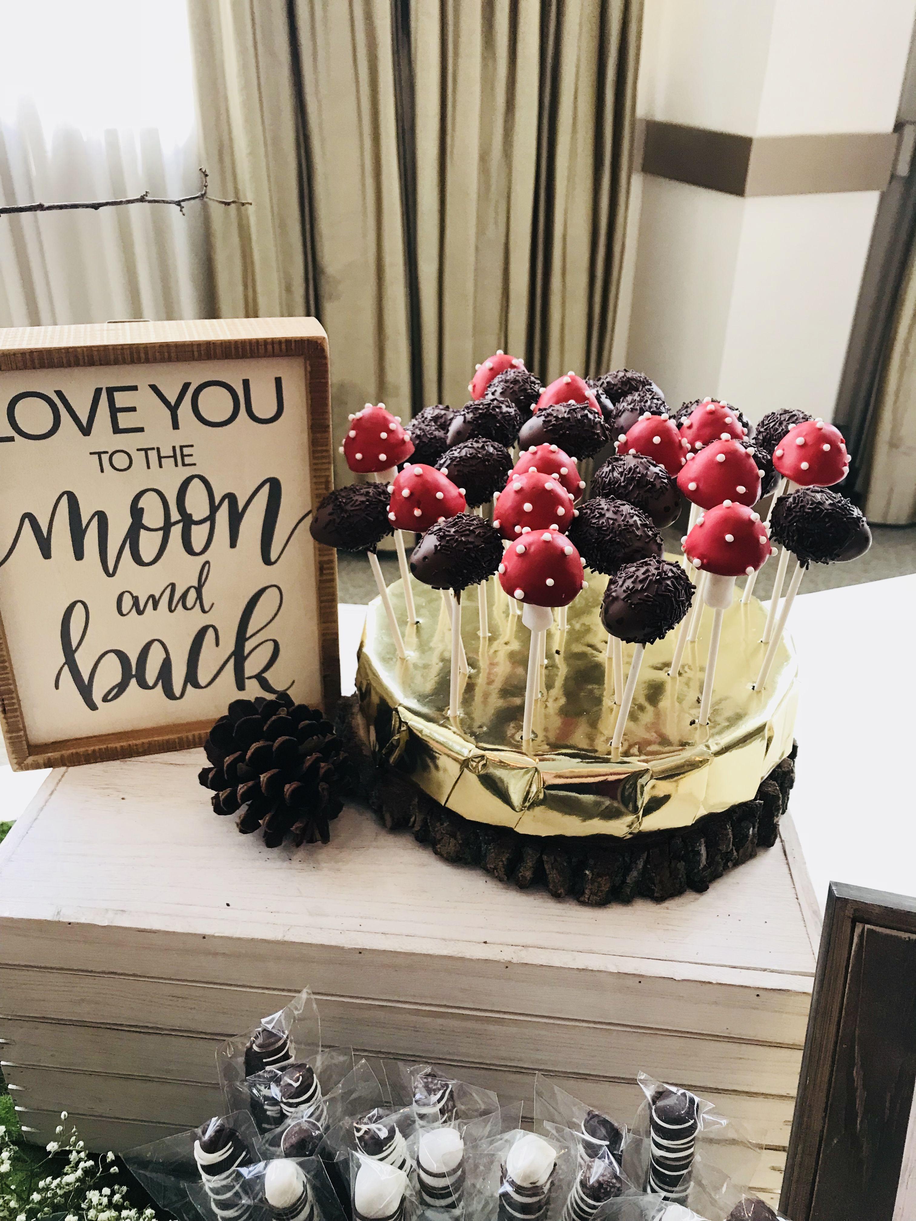Woodland Animal Cake Pops by JamiesCakePops on Etsy |Woodland Cake Balls