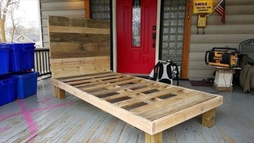 35 Best DIY Ideas To Make Bed Place From Pallet Project