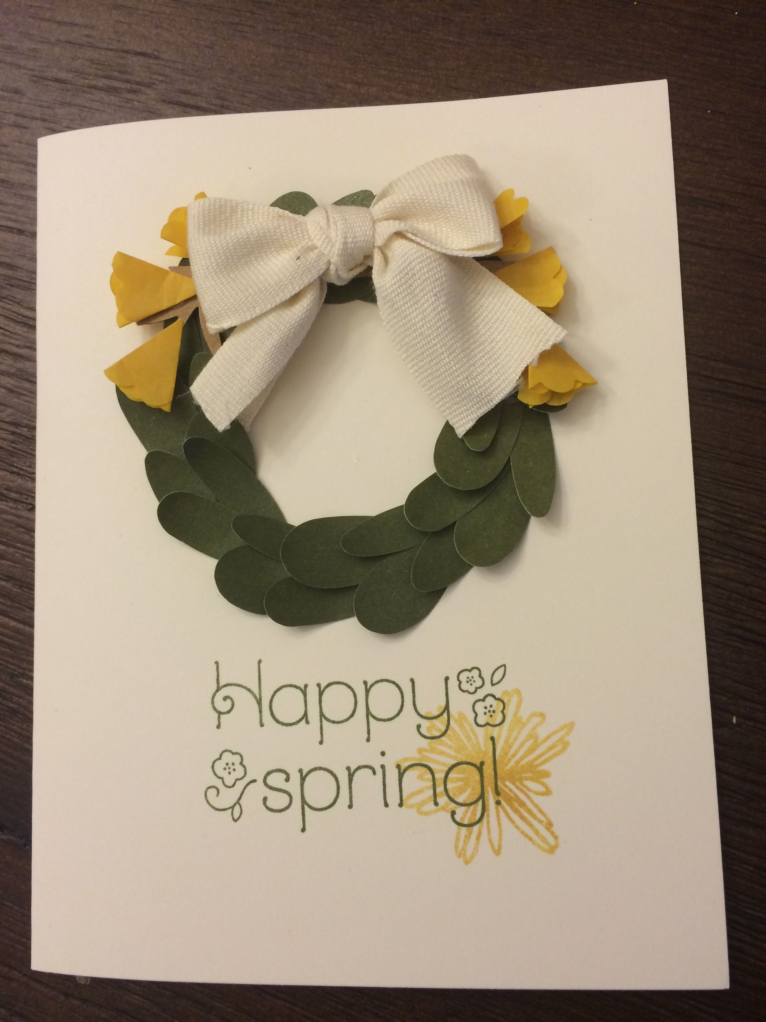 Stampin up paper pumpkin alternative April 2016.