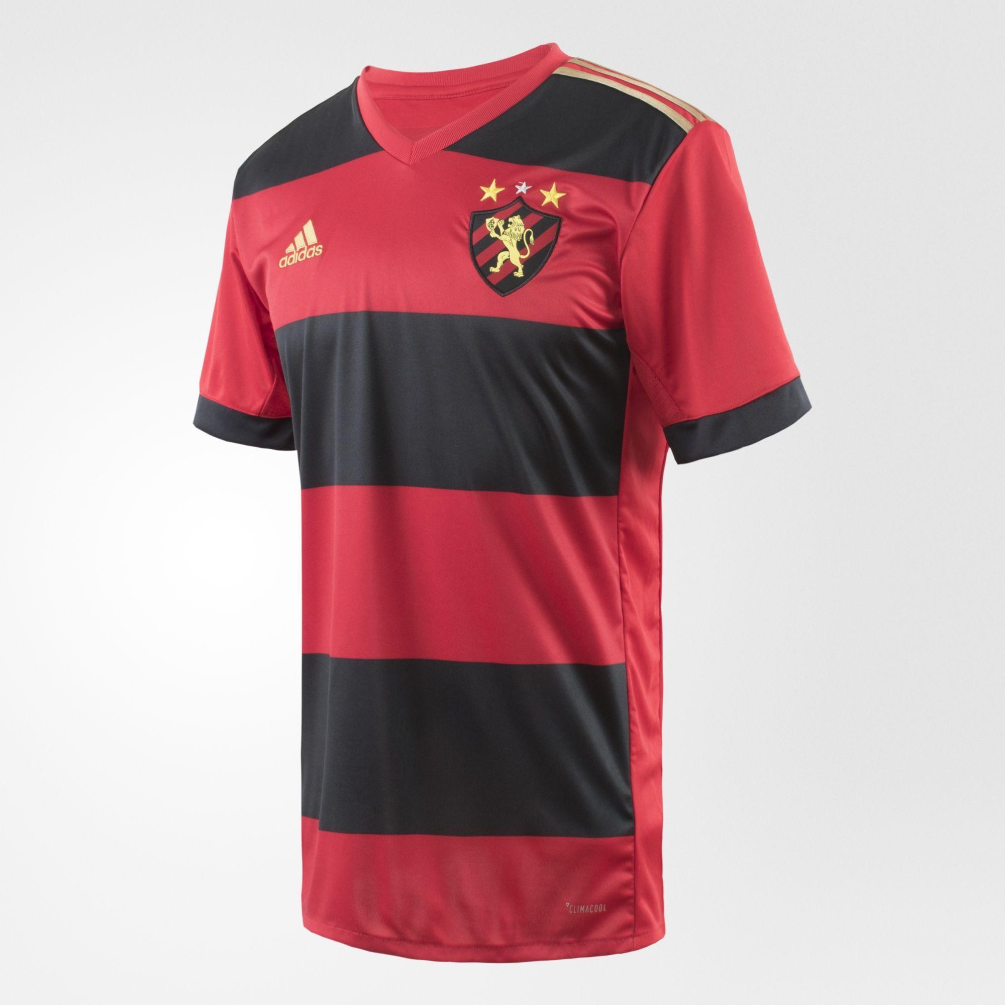 d0db3c5a08d Sport Recife 2017 Adidas Home Shirt