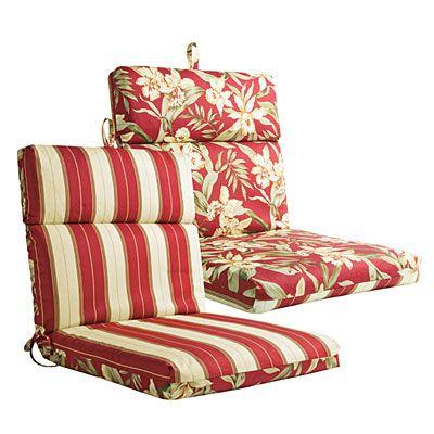 Groovy Outdoor Reversible Chair Cushions At Big Lots Garden Inzonedesignstudio Interior Chair Design Inzonedesignstudiocom