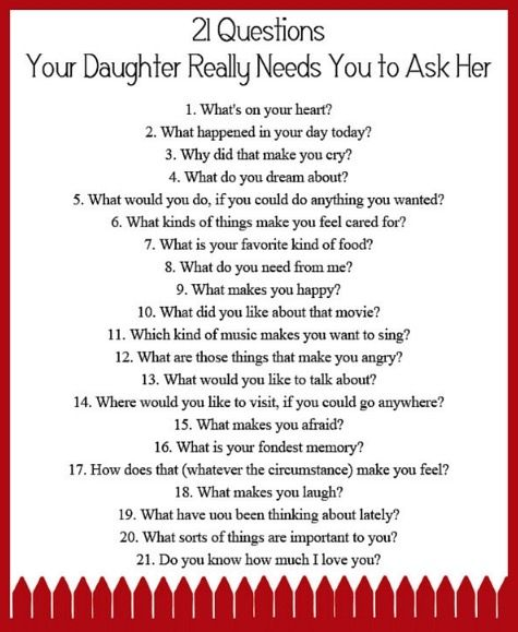 21 question for a girl
