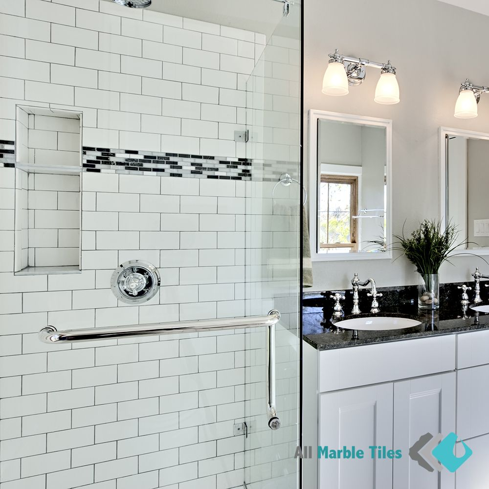 Design Your Bathroom With Carrara Marble Subway Tiles From  Www.allmarbletiles.com