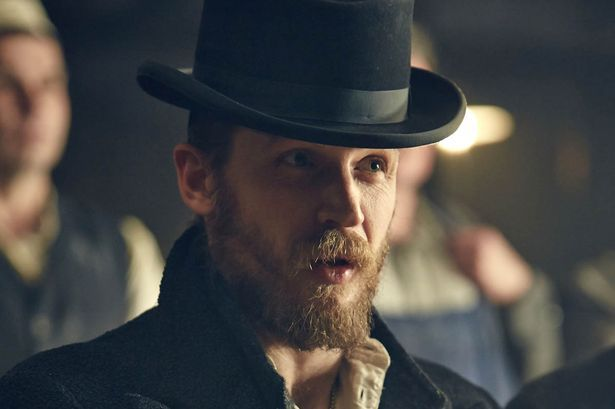 Image result for tom hardy peaky blinders