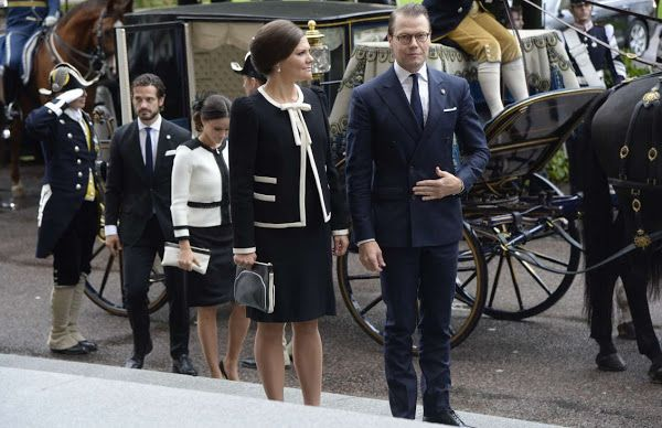 Swedish Royals attend opening of the Swedish Parliament 2015