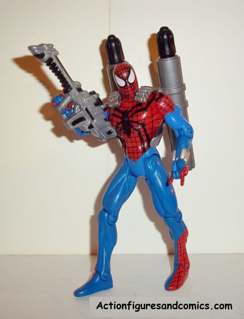Spider-man the Animated series BEN REILLY NEW SPIDER-MAN 1996 Amazing spider-man complete toy biz action figures