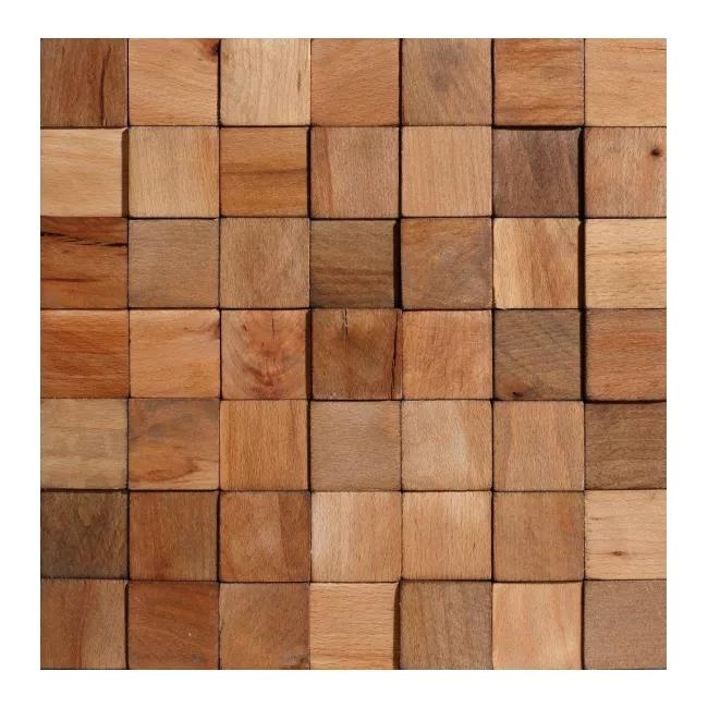 Panel Dekoracyjny Drewniany Stegu Cube 0 47 M2 Panele Dekoracyjne Paneling Wood Hardwood