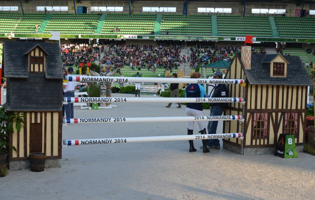 Take a look at some of the WEG showjumping fences. Designs that celebrate the best of Normandy - Horse & Hound