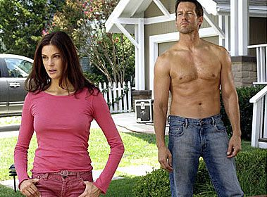 desperate housewives.... Oh how I love mike delfino