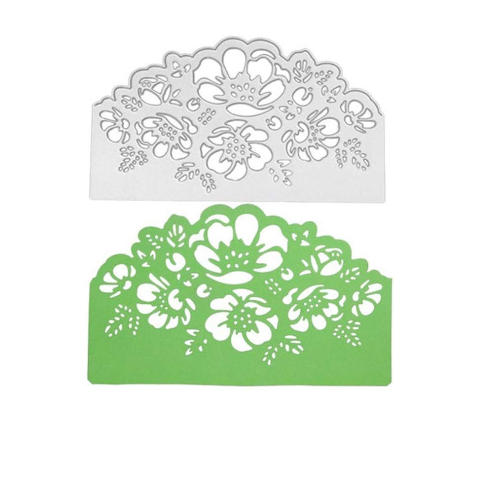 Flowers Metal Cutting Dies Stencil DIY Card Making Scrapbooking Embossing Paper