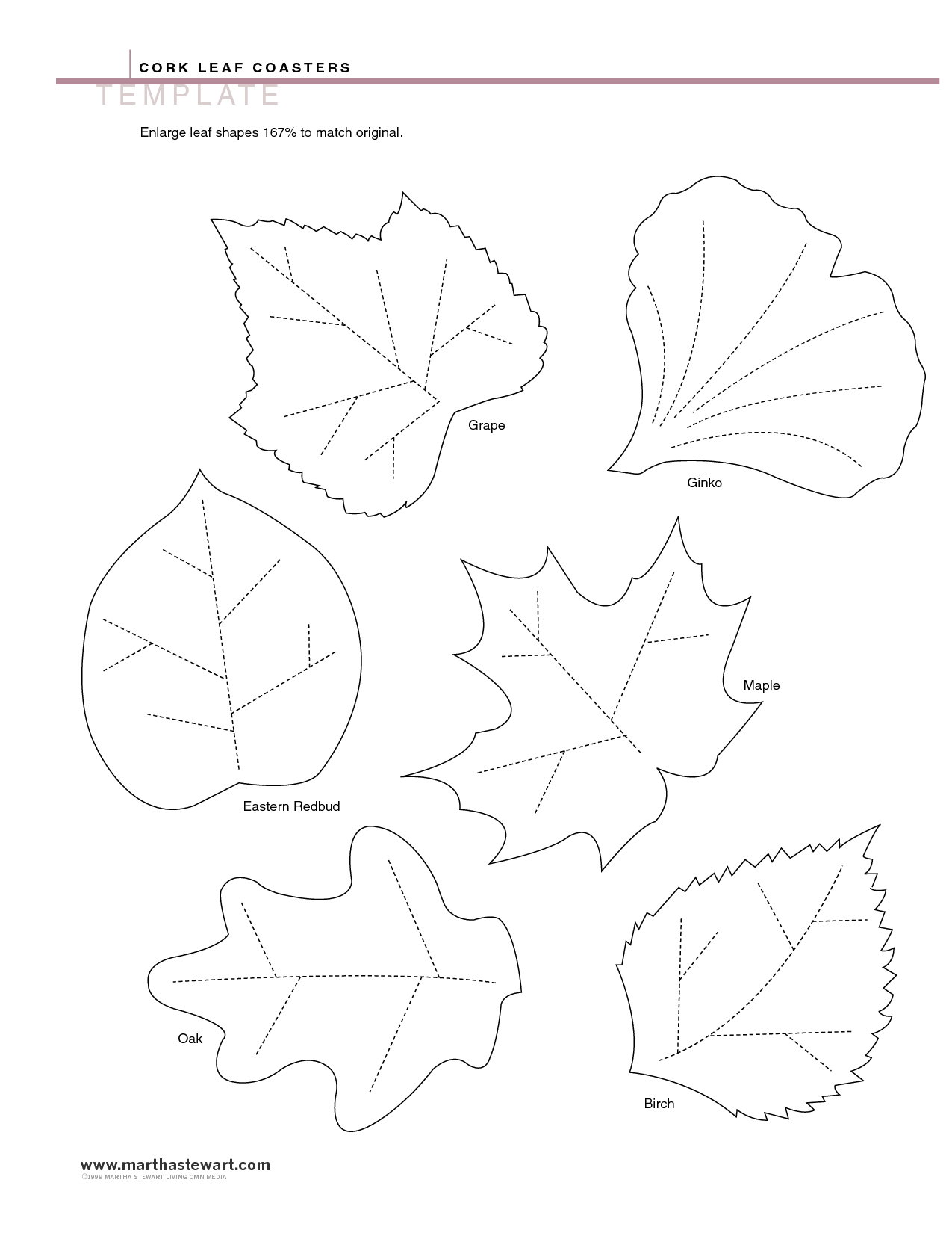 image detail for leaf templates pdf you ve got me in stitches