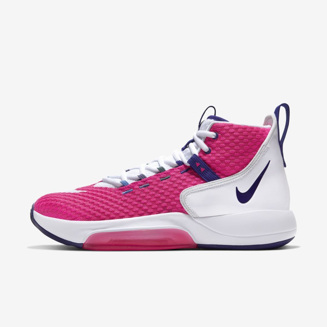 Nike Zoom Rize Kay Yow Men S Basketball Shoe Vivid Pink In 2020 Kid Shoes Basketball Shoes Nike Basketball Shoes