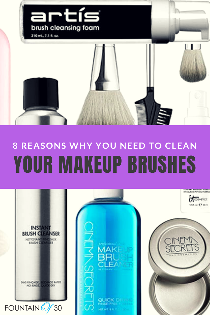 8 Reasons Why You NEED To Clean Your Makeup Brushes