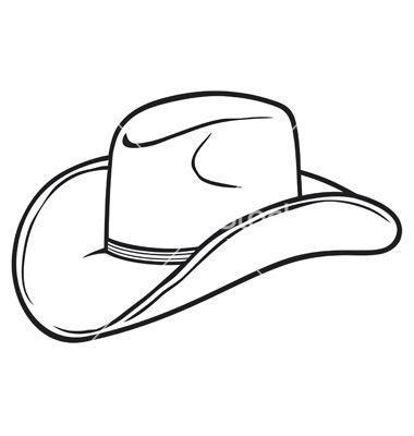 Cowboy Hat Vector Art Download Vectors 1189927 Cowboy Hats Painted Cowboy Hat Drawing Cowboy Hats