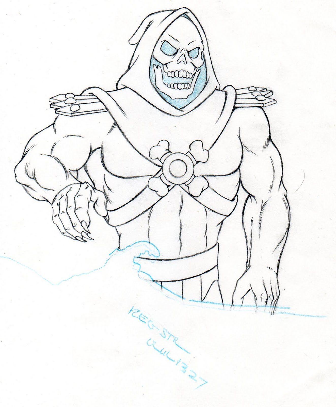 Imágenes para Colorear de He-Man (18 fotos) - Imagenes y Carteles ...
