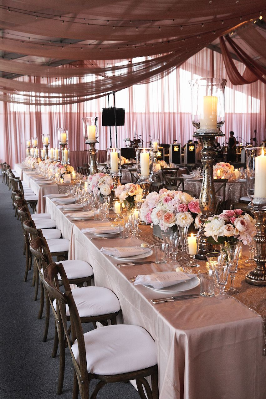 Luxurious Summer Tent Wedding on Lake Michigan in Chicago