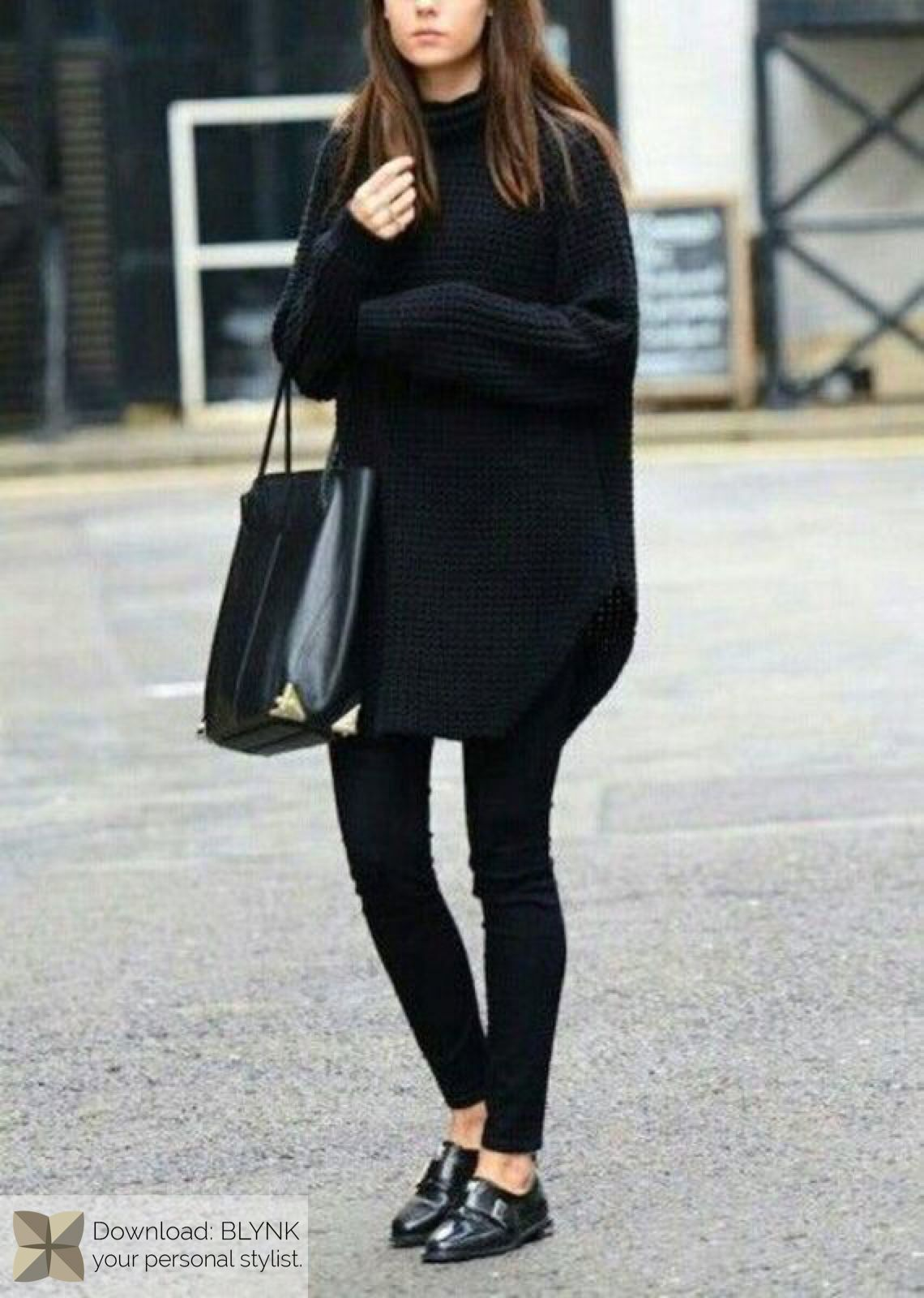 How to oversized wear sweaters pinterest