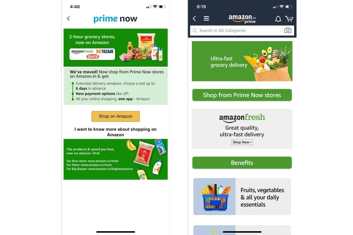 Amazon Pantry Now Available In Over 300 Cities Prime Now App Shuttered In India Daiji World News Delivery Groceries Order Groceries App
