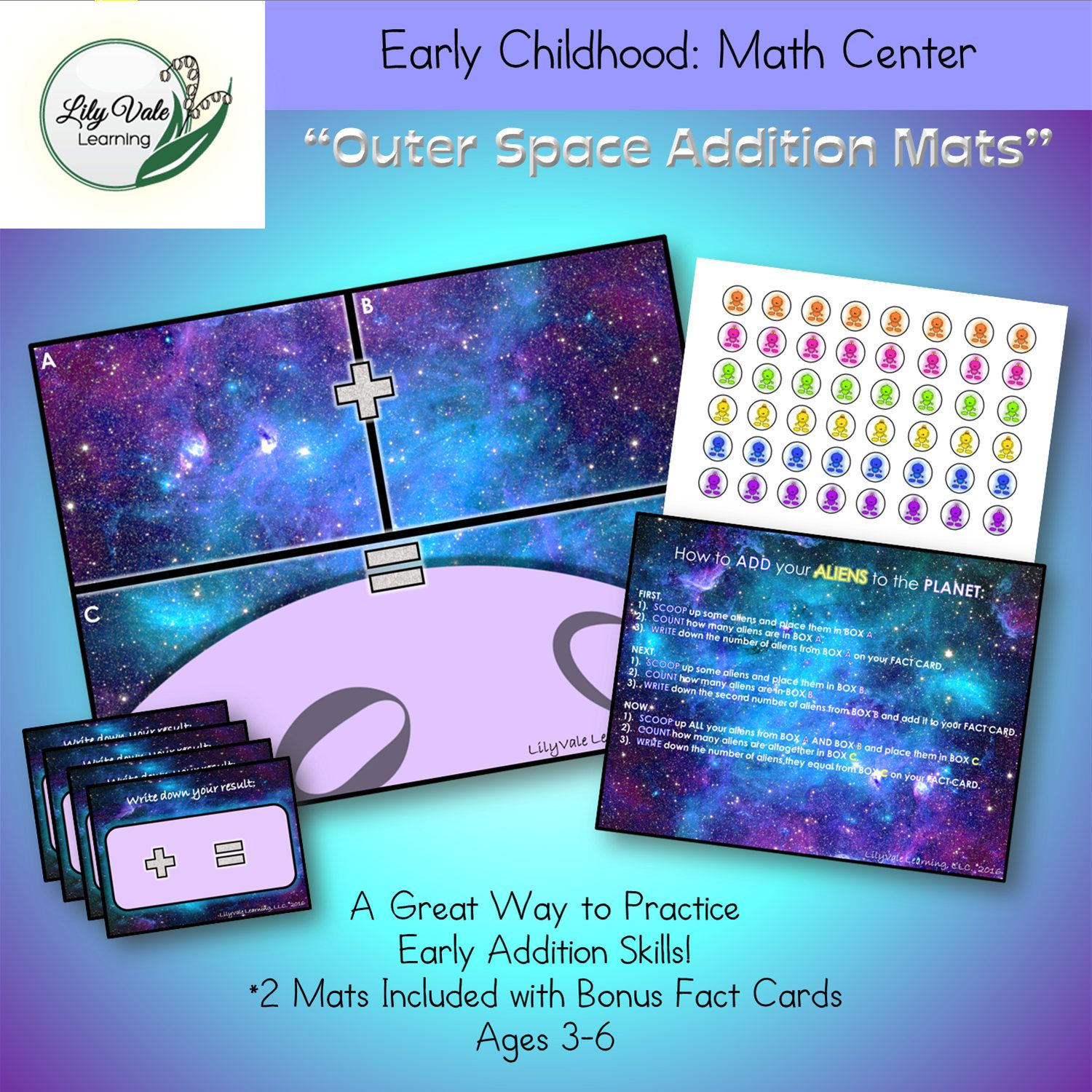 Preschool Learning Games Math Addition Learning Activity