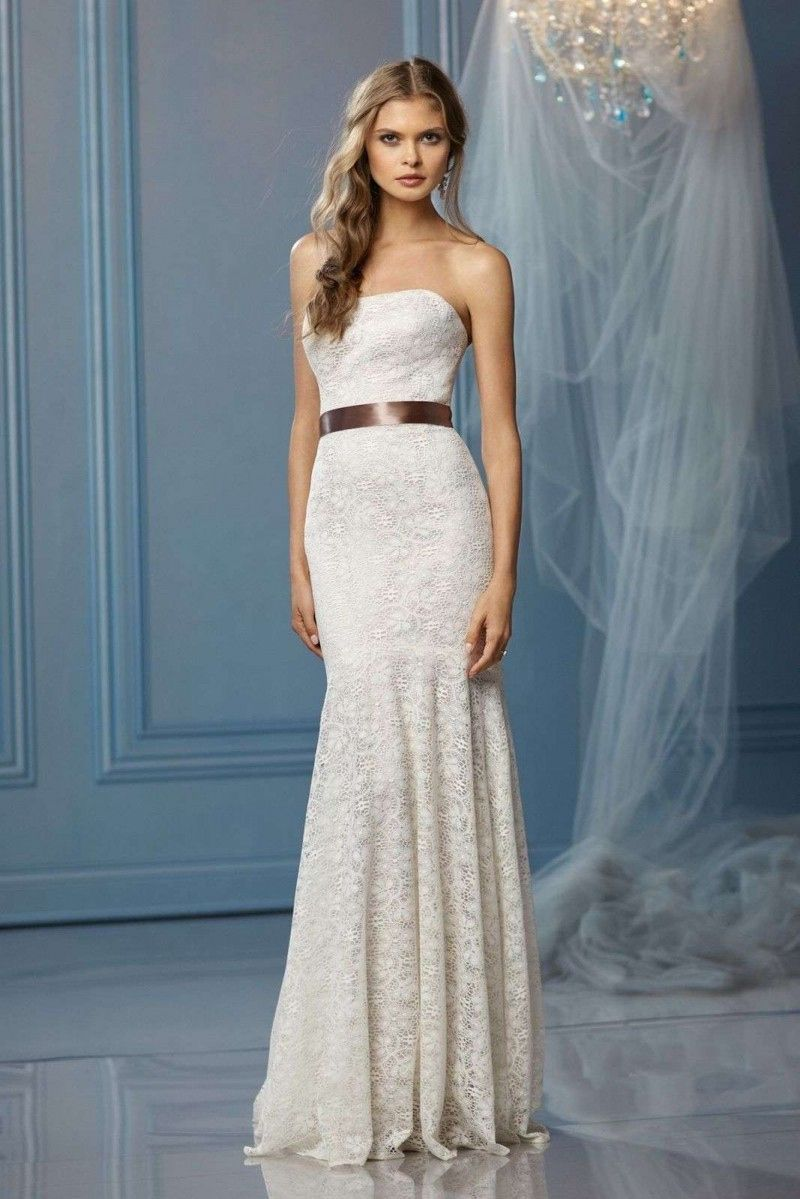 Simple Wedding Dress for Civil Ceremony - Dresses for Wedding ...