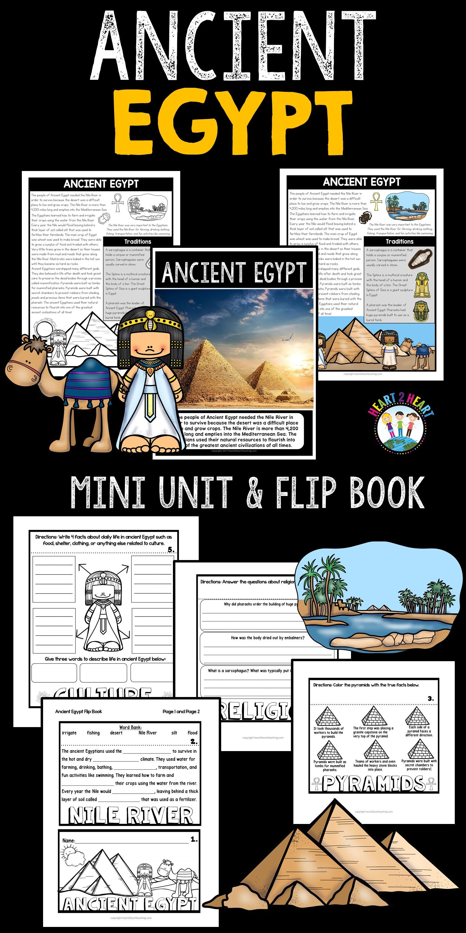 Step Back In Time And Learn About Ancient Egypt Ancient