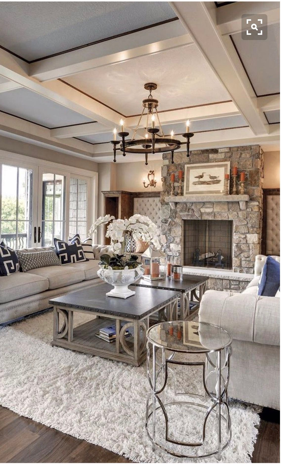 Love The Look Of This Luxury Living Room Rustic Chic Living Room Farm House Living Room Chic Living Room