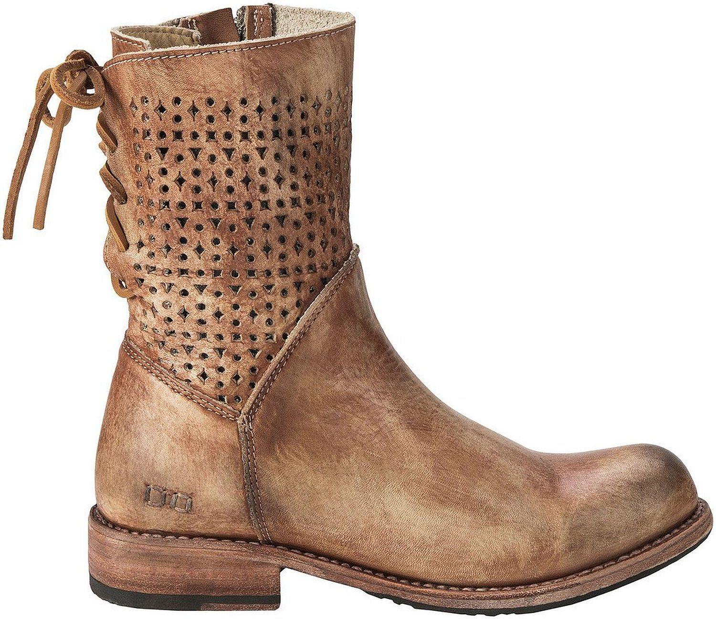 amazon | bed stu women's bridgewater tan rustic boot | mid