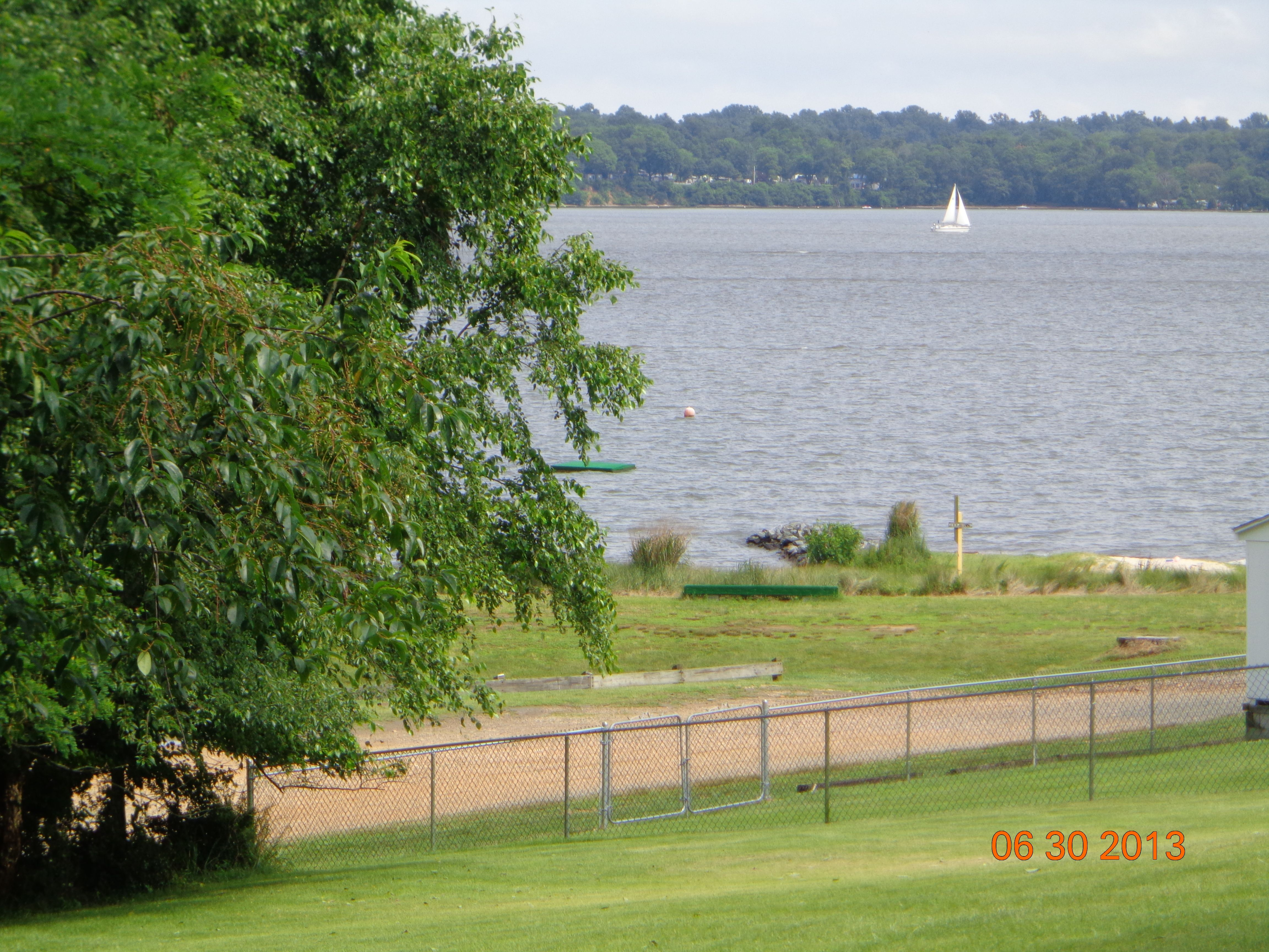 HOME FOR SALE....CHESAPEAKE ISLE...WATER ACCESS COMMUNITY....147 CLIFFVIEW DR. NORTH EAST, MD 21901  BACKS TO BEACH ...