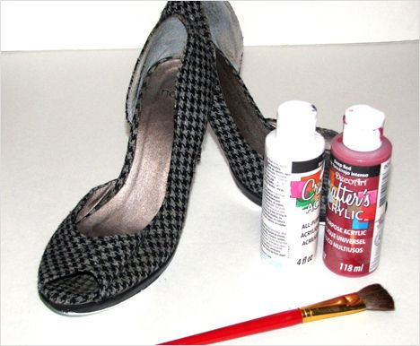 How To: Make your own Red Heels - we heart this