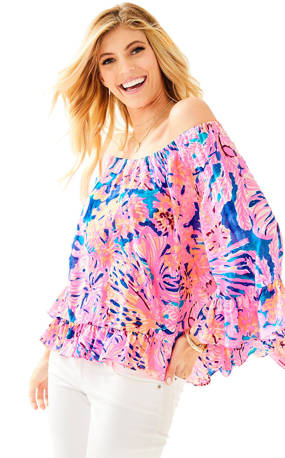 Lilly Pulitzer Womens Corie Top