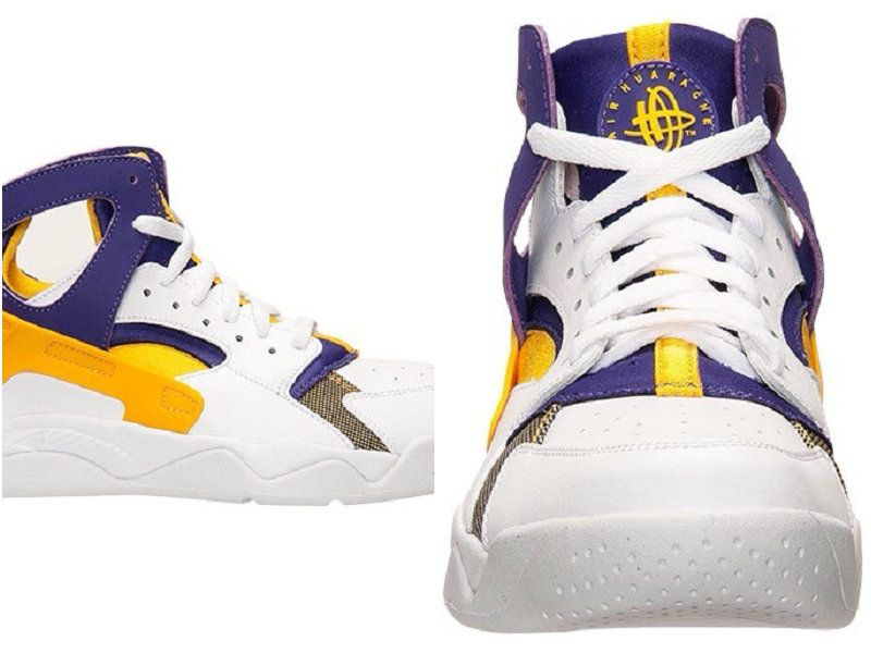 low priced 17560 49190 Best Modem Huaraches 2016 Latest Running Shoes Male Nike Air Flight Huarache  High White Yellow Purple 40-45 Low Cost