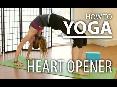 yoga  advanced heart opener yoga yoga sequence for
