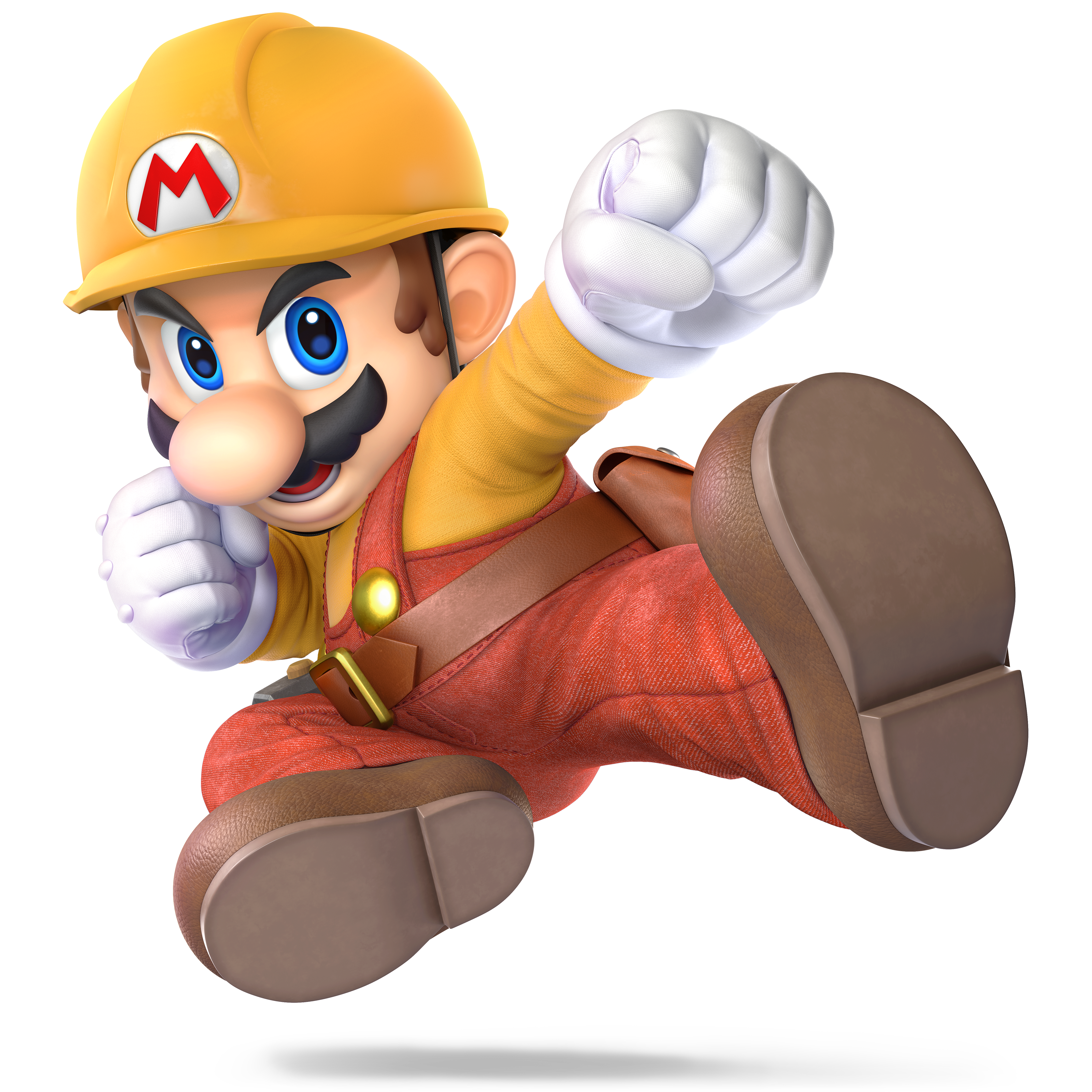 Mario Super Mario Maker Variation As He Appears In Super Smash
