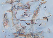 Shades Of Blue - Art Collection by Najma Velshi
