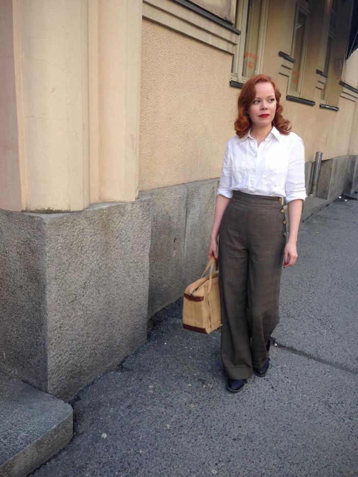 Fintage Fashion Show Timeless And Casual Fashion Spring Fashion Casual Forties Fashion