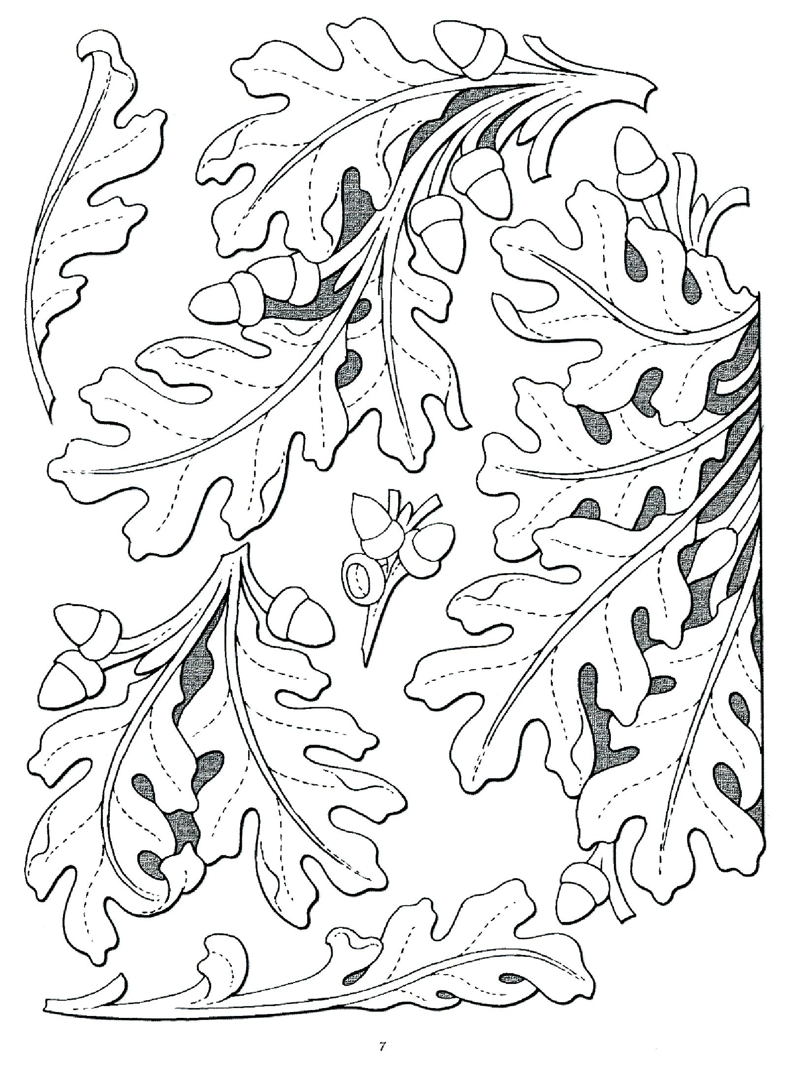 image relating to Printable Leather Tooling Patterns named leaf carving behaviors
