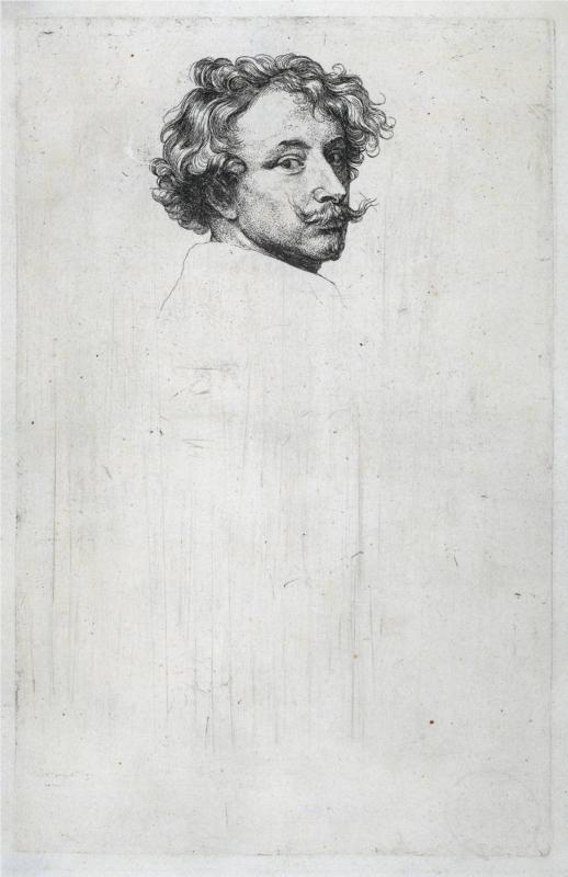 Anthony van Dyck, Self-Portrait, 1630