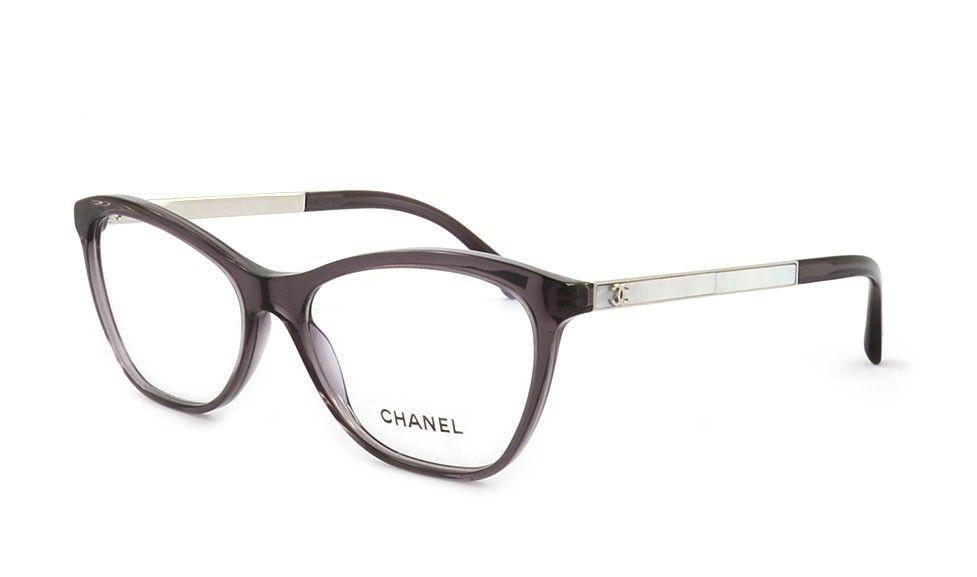 Chanel 3330H C1547 53 Lila | Brille | Pinterest | Brille, Brillen ...