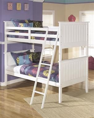 Best Ashley Furniture Lulu Bunk Bed Twin Bunk Beds White 640 x 480