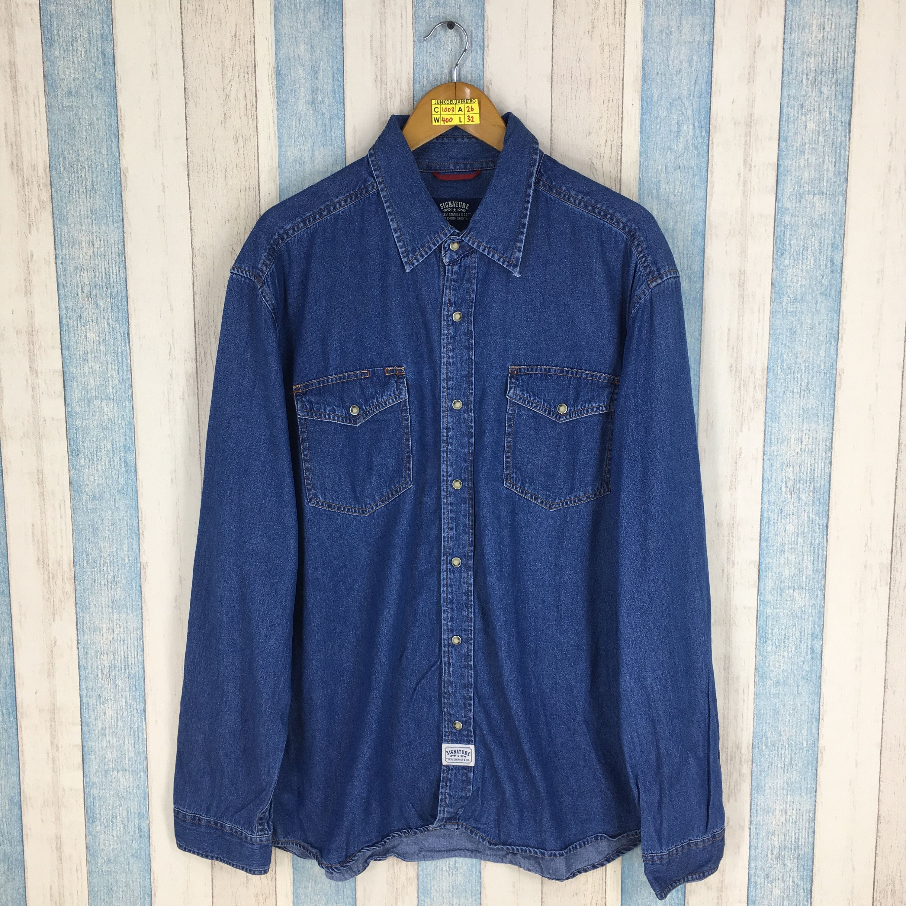 fda7614fff1 Polo By POLO GROUND Denim Shirt Xlarge Vintage 90 s Polo Ground Buttondown  Shirt Flannel Western Blue Jeans Shirt Oversize Size XL in 2019