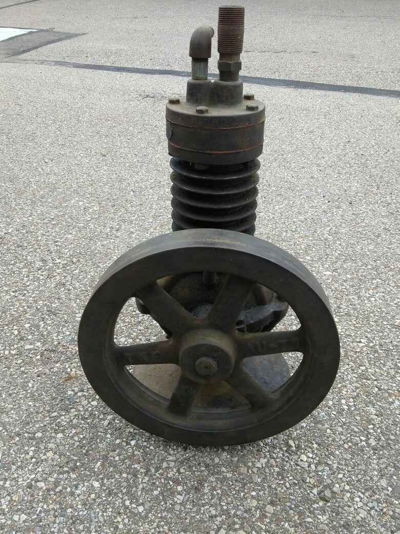 Antique Cast Iron Air Compressor AUTO Compressor No. 0