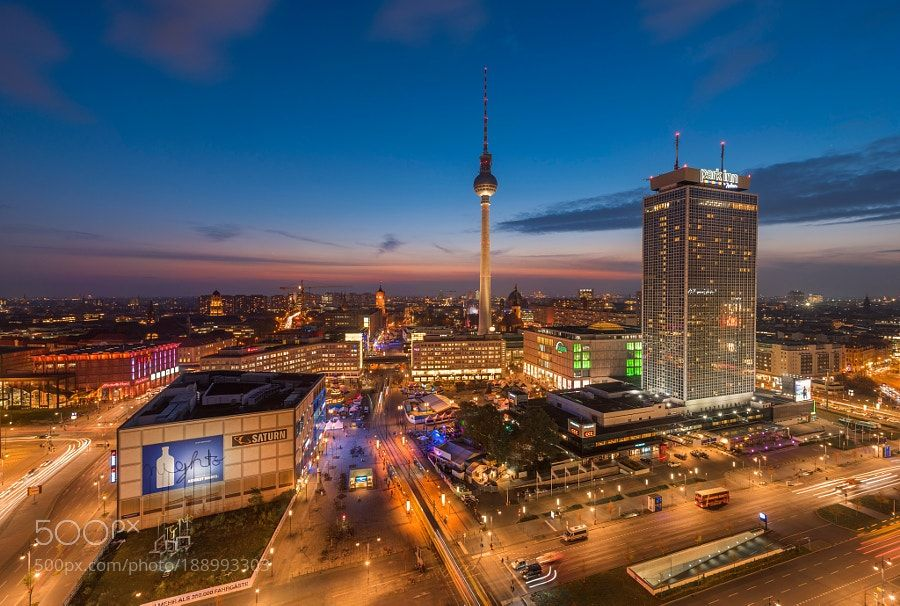 Alexanderplatz By Danyeidphotography