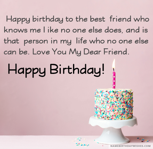 Happy Birthday Wishes For Friend With Images And Video Happy