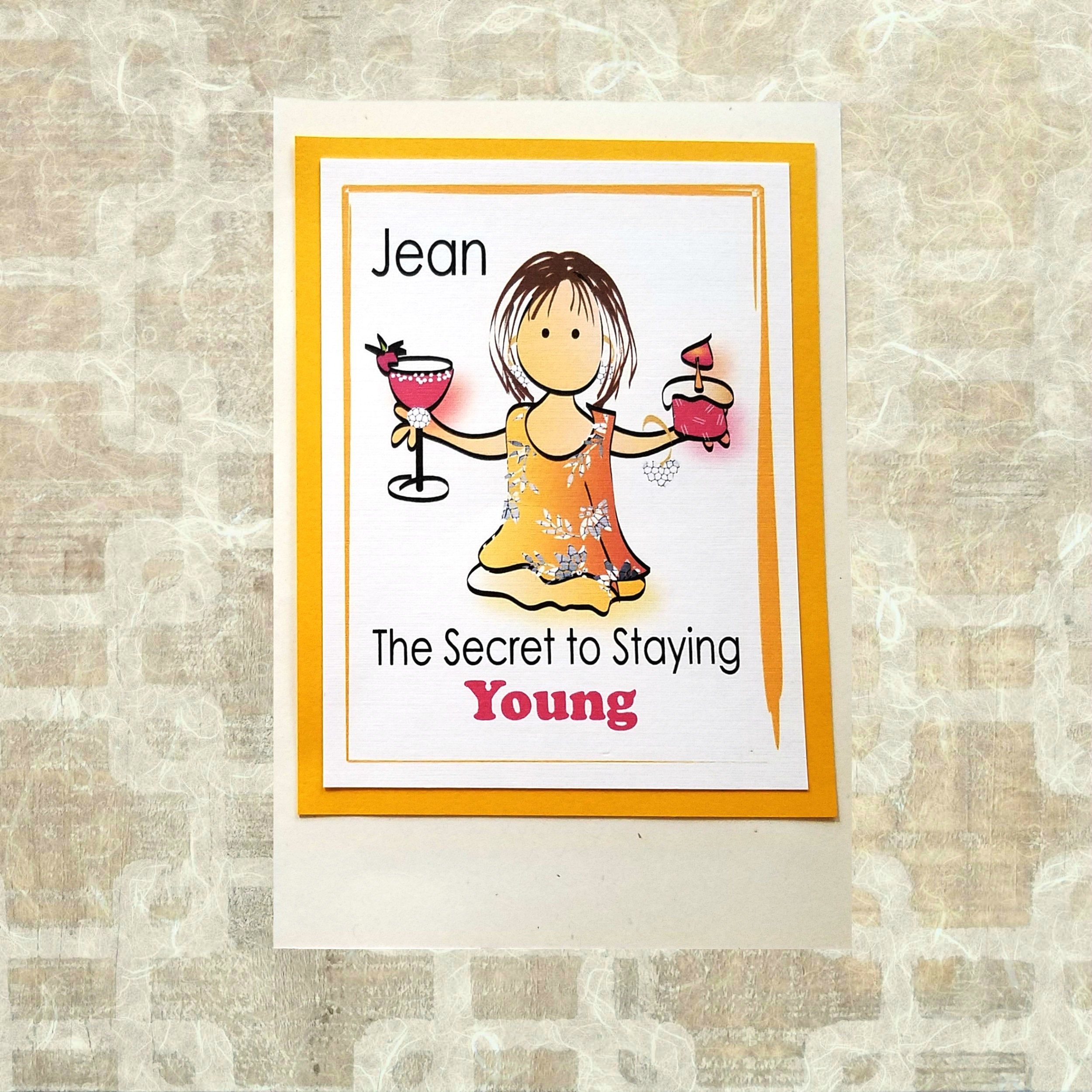 Funny Friend Birthday Card For Her Personalized Female Bday Card Sassy Classy Happy Birthday Greeting Card And Envelope Set Birthday Cards Funny Friend Funny Friend Birthday Funny Birthday Cards