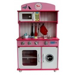 Duza Drewniana Kuchnia 100 Cm Z Akcesoriami Kitchen Appliances Kids Big Kids