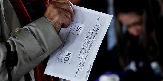 Jornada de votacion desde Corferias en plebiscito 2016 - ElTiempo.com