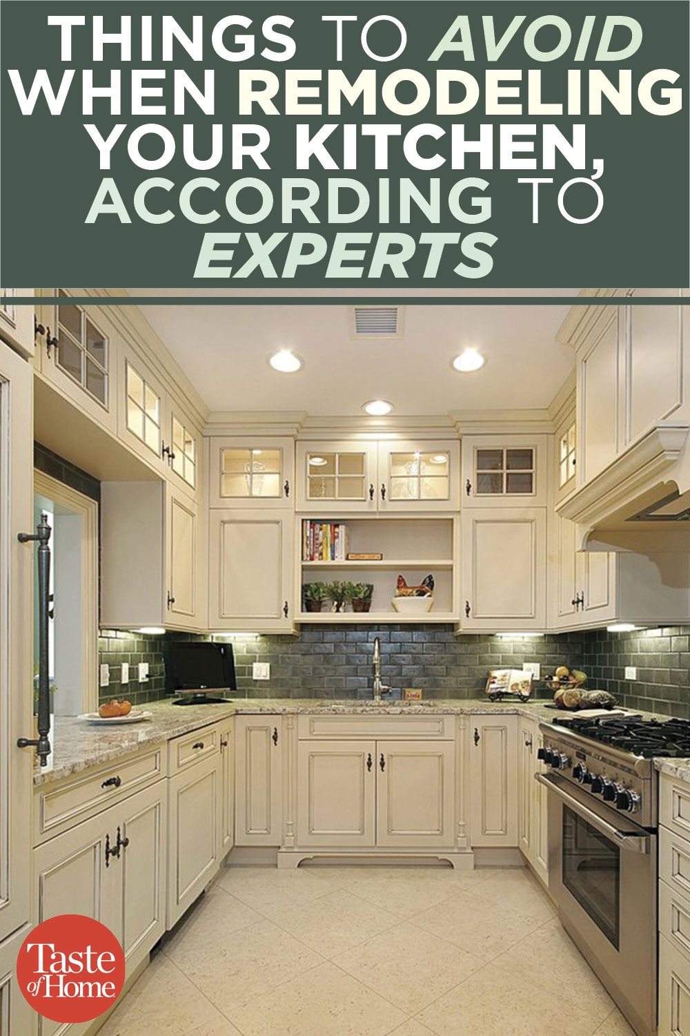 things to avoid when remodeling your kitchen according to experts diy kitchen remodel on how to remodel your kitchen id=61975