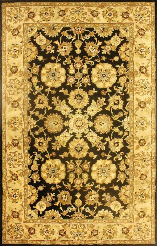 Rugs USA Royal Persian Black Rug. 4th of July Sale! Pick from 1 of 2 promotions to save today!  Area rug, carpet, design, style, home decor, interior design, pattern, trend, statement, summer, cozy, sale, handmade, sale, discount, free shipping.