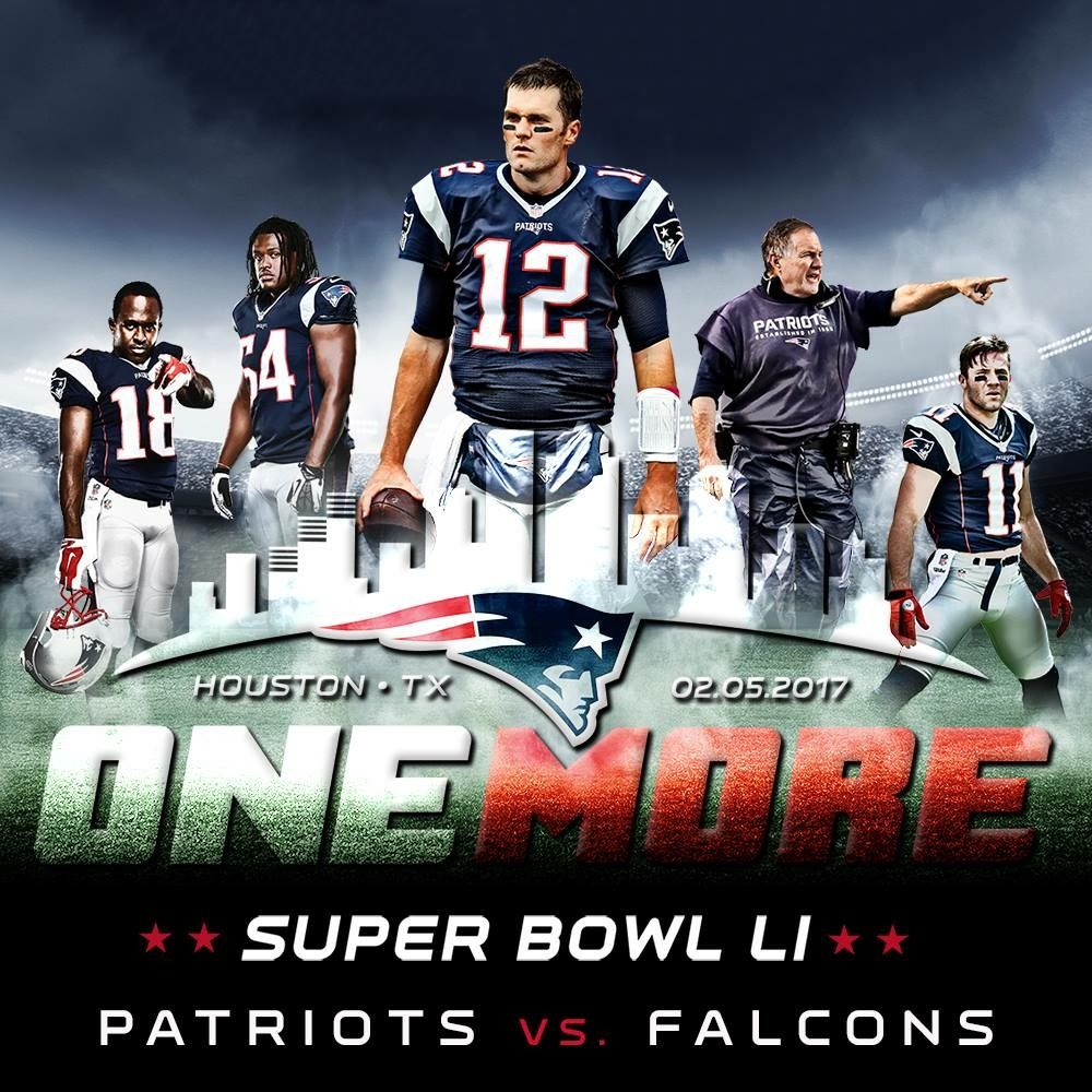 We are going to OneMore New england patriots football